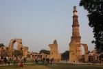 Qutb Minar itself: the minaret