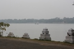 View of the Hooghly River.